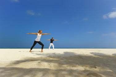 Des cours de yoga sont également disponibles