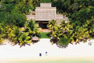 Vue aérienne de la Villa Présidentielle et son site très privatif
