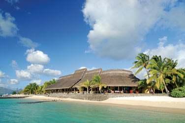 Le restaurant 'Blue Marlin' pour un déjeuner au bord de l'eau...