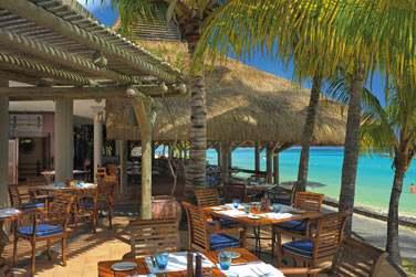 Un déjeuner sur la terrasse du 'Blue Marlin' face à la mer... Qui dit mieux ?