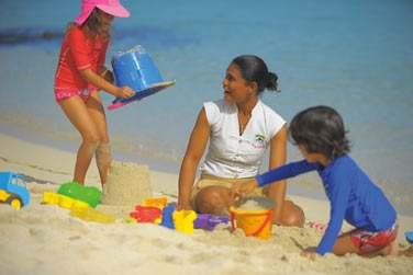 Jeux sur la plage...