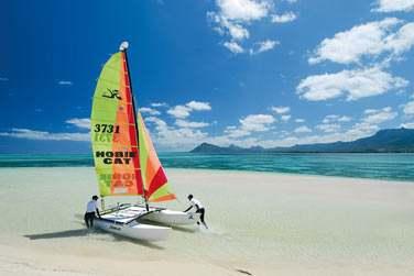 L'hôtel Paradis est parfait pour les amateurs de sports nautiques