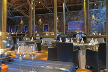 Le restaurant gastronomique, Boucanier, aux spécialités de fruits de mer