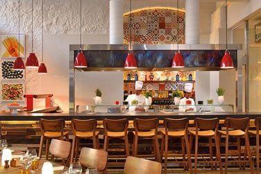 Cadre soigné et chaleureux au restaurant italien Porto Vecchio