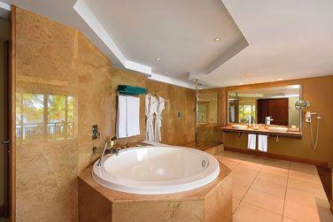 La salle de bain de la Suite Senior