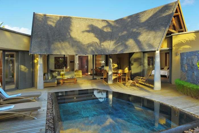villa 2 chambres (piscine)