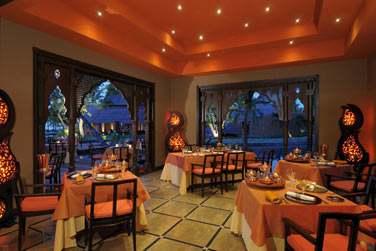 ... Un décor des 1001 nuits au restaurant indien Mahiya