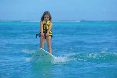 Vos enfants pourront même tester le ski nautique !