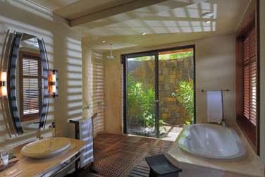 Salle de bain de la Suite Famille