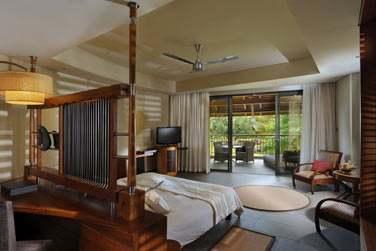 Intérieur chambre de la Junior Suite Tropical