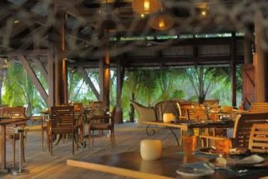 Le restaurant 'l'Horizon'