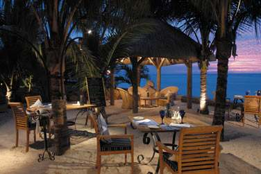 Le restaurant l'Horizon... Pour un repas les pieds dans le sable