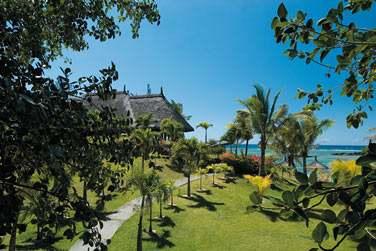 Les jardins tropicaux de l'hôtel sont luxuriants !