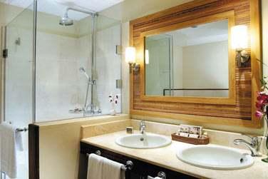 Salle de bain d'une chambre supérieure