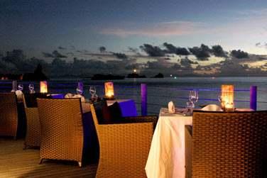 Dîner romantique en front de mer