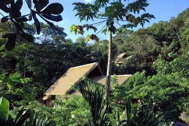 Les villas de Charme sont très bien intégrées à l'environnement