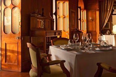 Vous pourrez choisir de prendre votre petit déjeuner au Château ou dans l'intimité de votre villa
