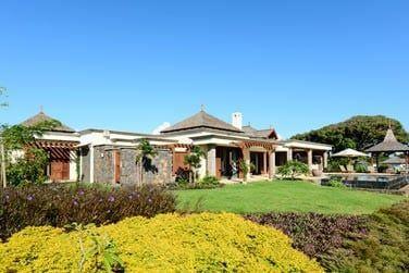 Le jardin entourant une villa... Intimité garantie !