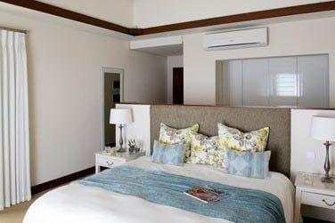 Les chambres sont joliment décorées