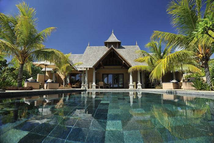 suite villa présidentielle avec piscine