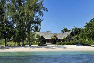Vue sur l'Exclusive Suite Villa depuis la mer
