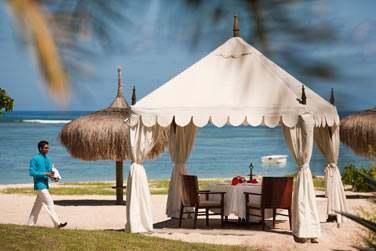 Déjeuner privé sur la plage