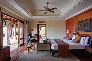 Chambre de la Luxury Suite Villa