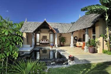 Extérieur de la Luxury Suite Villa