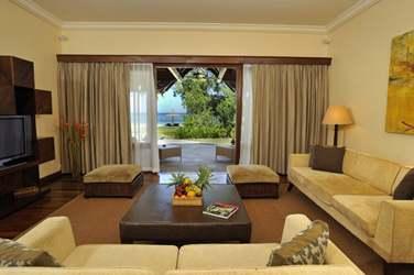 Salle de séjour de la Suite Villa 2 chambres (Suites communicantes)