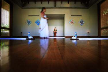 Salon de méditation au Spa