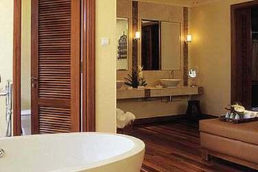 Salle de bain de la Suite Villa Présidentielle
