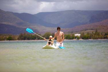 Sports nautiques en famille