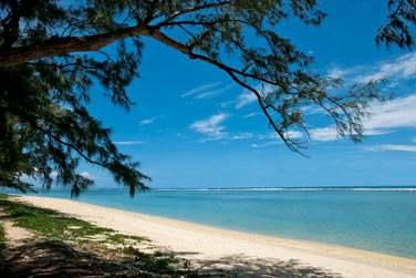 et sa très belle plage