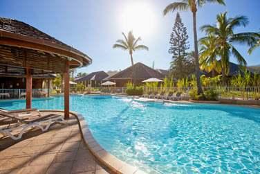 L'hôtel dispose de deux piscines