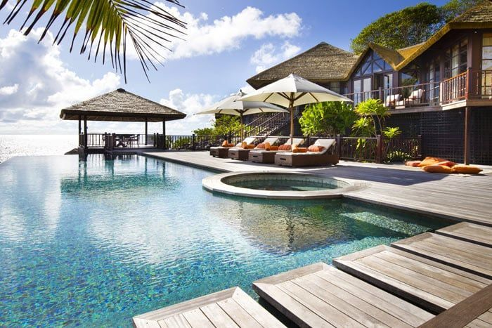 Photos h tel fregate island private seychelles for Piscine privee paris