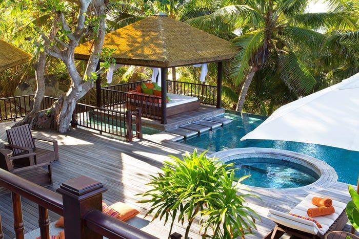 villa 1 chambre - résidence avec piscine privée