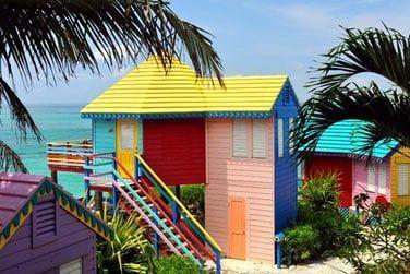 La plage de Love Beach est à quelques pas de votre chambre