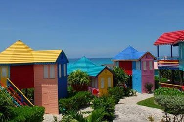 L'hôtel Compass Point vous invite dans des cottages à l'esprit caribéen