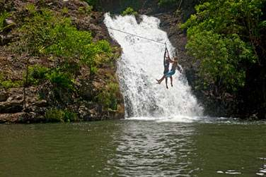 Les enfants seront ravis de s'amuser dans les réserves naturelles
