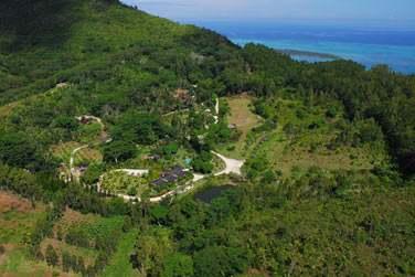 Bienvenue au boutique-Lodge 'Lakaz Chamarel', un lieu calme et reposant en pleine nature