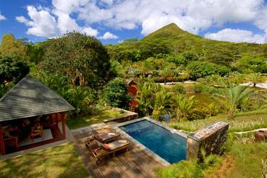 Les Suites avec piscine privée offrent un cadre de séjour incroyable en plein cœur de la végétation