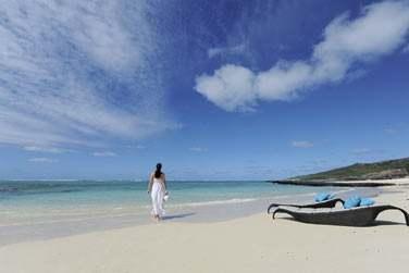 Il fait bon se relaxer au bord des plages de Rodrigues, en toute tranquillité