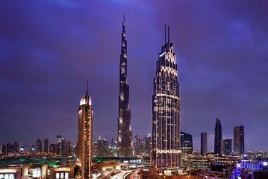 Bienvenue à l'hôtel The Address Boulevard Dubaï