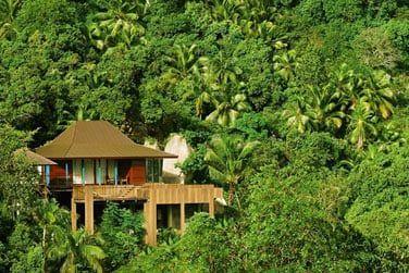 Les Suites et Villas sont intégrées à la nature