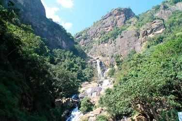 En quittant la région des montagnes, vous découvrirez de beaux panoramas et des cascades