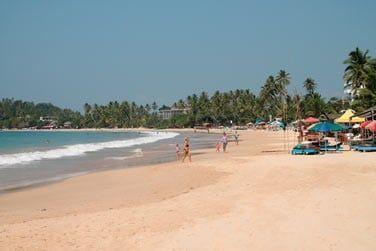 Profitez de la fin de votre séjour pour lézarder sur la plage d'Hikkaduwa ou découvrez les autres plages de l'île