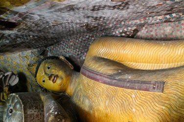 Les grottes de Dambulla font partie des sites incontournables du Triangle Culturel