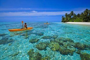Explorez la beauté du lagon en kayak