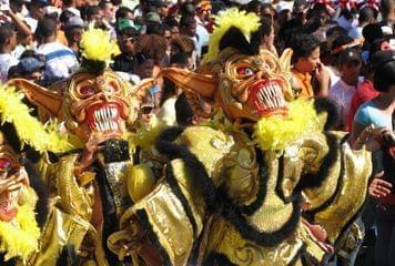 Máscara de carnaval na República Dominicana