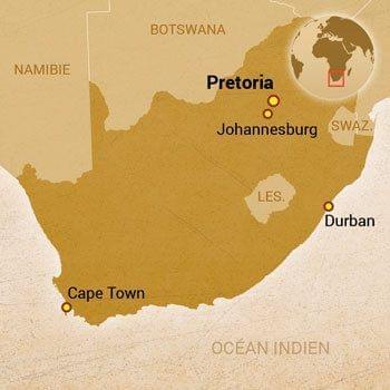 Carte Afrique Johannesburg.Plutot Johannesburg Ou Le Cap